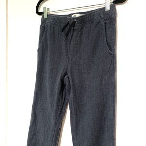 Old Navy | Boys Relaxed Blue Jogger Pants
